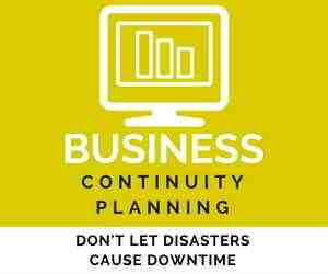 Don't let disasters cause downtime. In the event that your critical data is compromised or lost, our disaster recovery planning business continuity services get you up and running again fast.