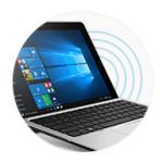Work without wires Wireless docking capabilities via Intel WiGig.