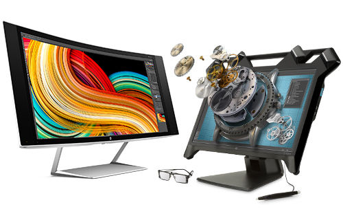 HP Specialty Z Displays Curved Screen