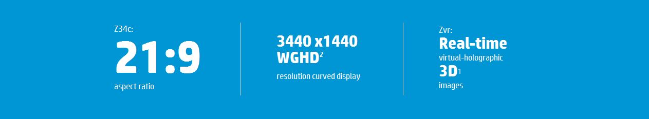 HP Specialty Z Displays Specs
