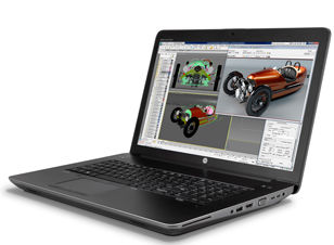 HP Z Book 17 Carry it with confidence