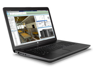HP Z Book 17 Professional grade graphics and unparalleled colour confidence