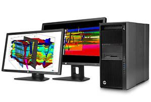 HP Z840 Desktop Workstation get going