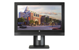 HP Z1 G3 Workstation Modern Workspace