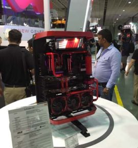 Computex Trade Show 2016 Look at those fans
