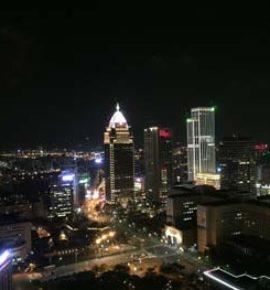 Computex Trade Show 2016 Night View