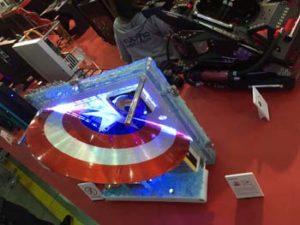 Computex Trade Show 2016 Captain America