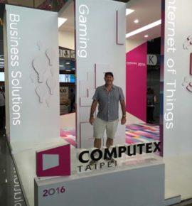 Computex Trade Show 2016 MD Geoff Smith