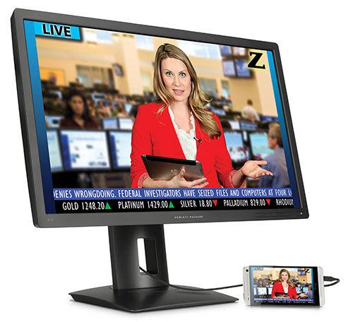 HP Ultra High Def Z Displays