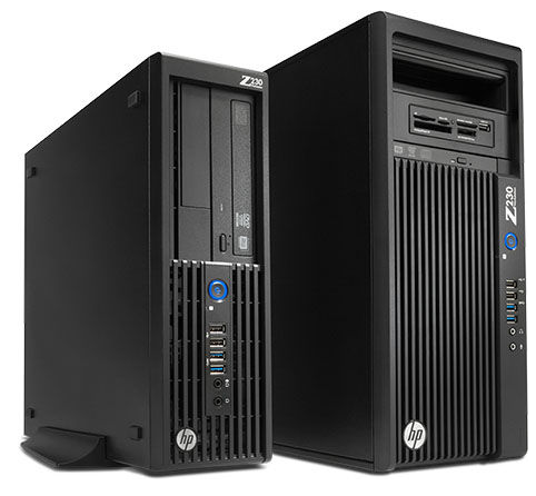 HP Z230 Small Form Factor and Z230 Tower
