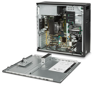 HP Z440 Desktop Workstation A chassis that meets any challenge