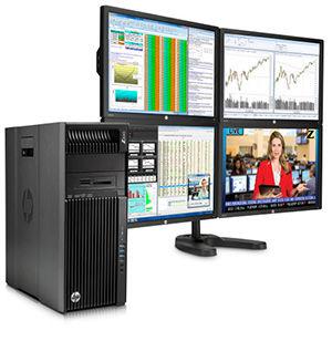HP Z640 Desktop Workstation Power Up
