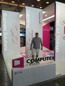 Geoff Smith at Computex 2016