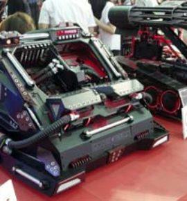 Computex Trade Show 2016 Tank Case