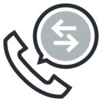 A call button with a telephone saying ring the managed services experts in Perth