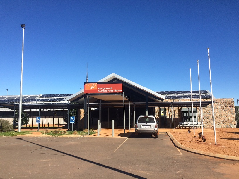 Ngangganawili Aboriginal Health Service where CBM Corporate Perth set up their newest IT rig and managed services