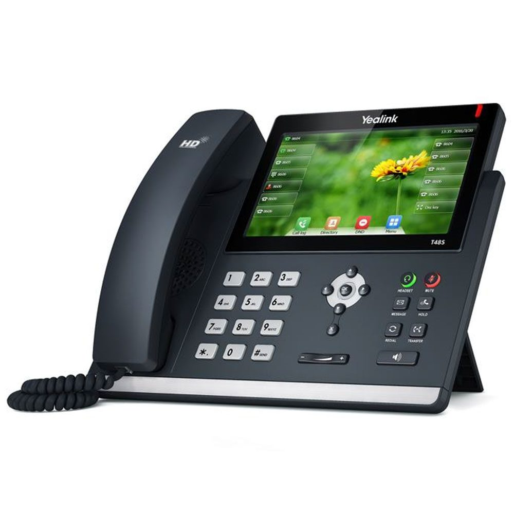 SIP-T48S A Revolutionary SIP Phone with a 7-inch Touch Screen available from CBM Corporate in Perth